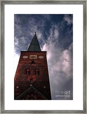 Aarhus Church Hdr 05 Framed Print by Antony McAulay