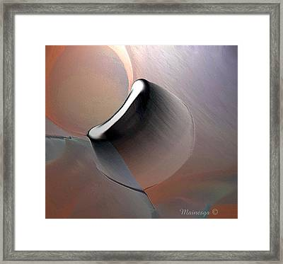 Ab-r-1 Framed Print by Ines Garay-Colomba