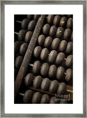 Abacus Framed Print by Edward Fielding