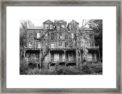 Abandoned 8284 Framed Print by Guy Whiteley