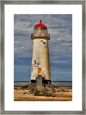 Abandoned Framed Print by Adrian Evans