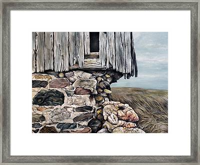 Abandoned Barn - Huron County Framed Print by Brent Schreiber