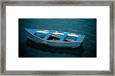 Abandoned Boat Framed Print by Frank Tschakert