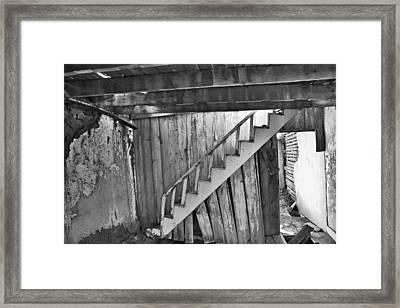 Abandoned Framed Print by Brady Lane