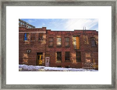 Abandoned Framed Print by Diane Diederich