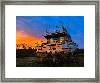 Abandoned Dreams Framed Print by Laura Ragland