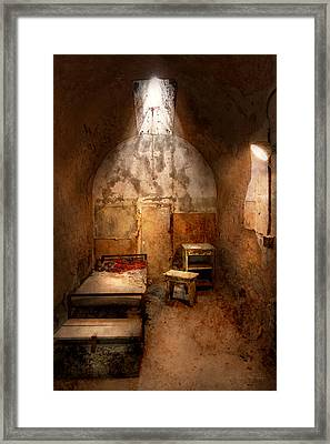 Abandoned - Eastern State Penitentiary - Life Sentence Framed Print by Mike Savad