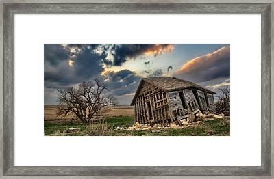 Abandoned Farmstead 2 Framed Print by Thomas Zimmerman