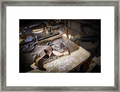 Abandoned Gold Mine Framed Print by Scott McGuire