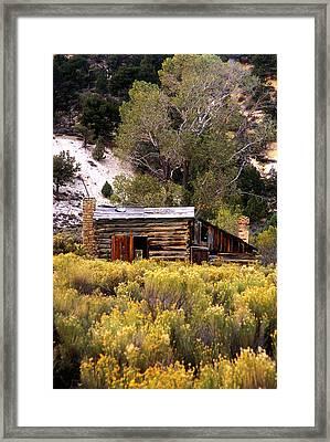 Abandoned Homestead Framed Print by Martin Sullivan