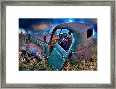 Abandoned II Framed Print by Alana Ranney