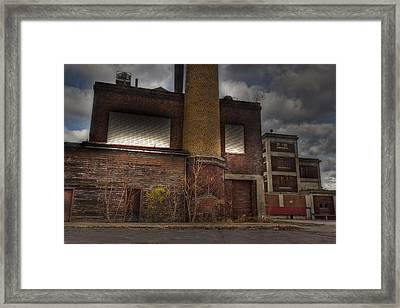 Abandoned In Hdr 2 Framed Print by Tim Buisman