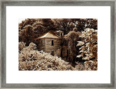 Abandoned In Time Framed Print by Melissa Petrey