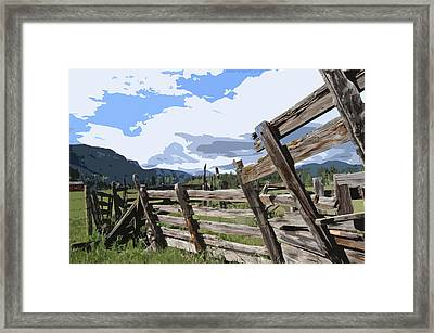 Abandoned Framed Print by Jack McAward