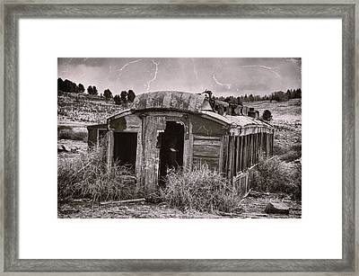 Abandoned Framed Print by Ken Smith