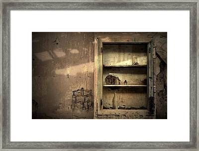 Abandoned Kitchen Cabinet Framed Print by RicardMN Photography