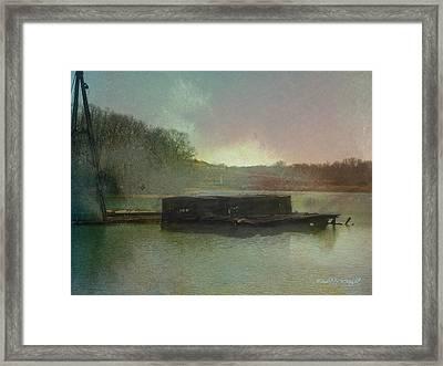 Abandoned Framed Print by Paulette B Wright