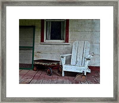 Abandoned Framed Print by Frozen in Time Fine Art Photography