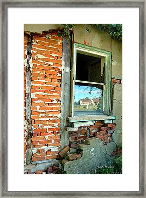 Abandoned Framed Print by Ron Haist