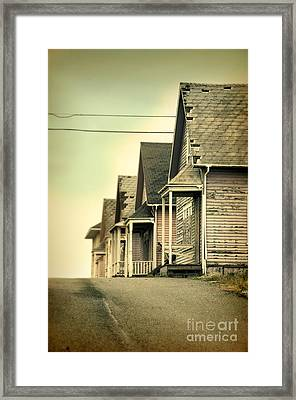 Abandoned Shacks Framed Print by Jill Battaglia