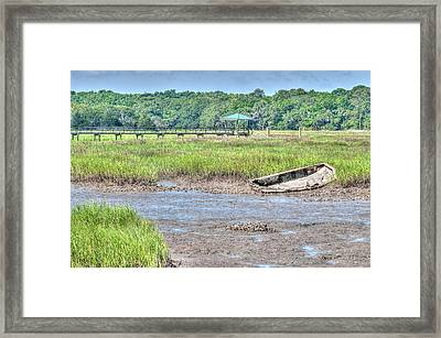 Abandoned Vessel Framed Print by Scott Hansen