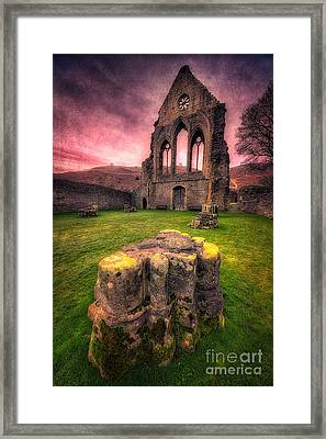 Abbey Ruin Framed Print by Adrian Evans