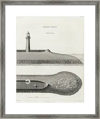 Aberdeen Harbour Framed Print by British Library
