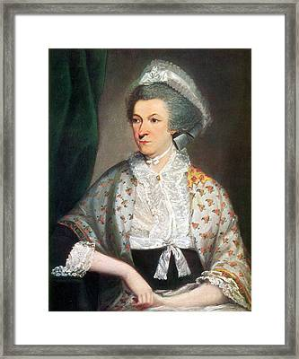 Abigail Adams, First Lady Framed Print by Science Source