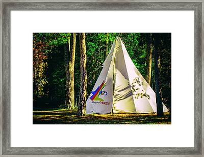 Aboriginal Voices Framed Print by James Canning