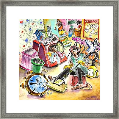 About Women And Girls 05 Framed Print by Miki De Goodaboom