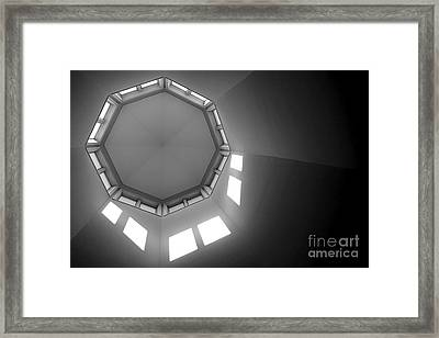 Above Framed Print by Olivier Le Queinec