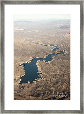 Above The Rocky River Framed Print by Darleen Stry