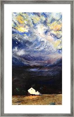 Above The Storm Framed Print by Patty Kingsley