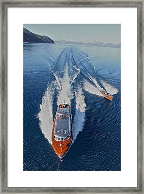 Above Thunderbird Framed Print by Steven Lapkin