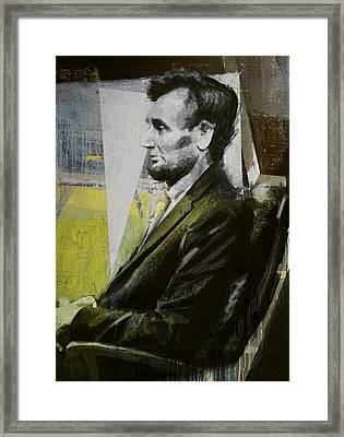 Abraham Lincoln 03 Framed Print by Corporate Art Task Force