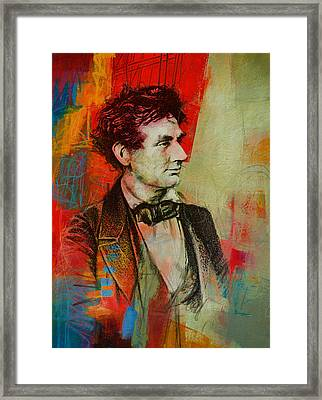 Abraham Lincoln 04 Framed Print by Corporate Art Task Force