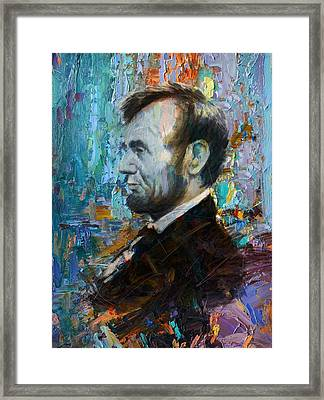 Abraham Lincoln 6 Framed Print by Corporate Art Task Force