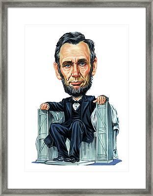 Abraham Lincoln Framed Print by Art