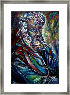 Abraham  Patriarch Framed Print by Carole Spandau