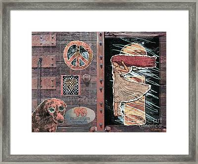Absinthe Night In Brussels Framed Print by Joseph J Stevens