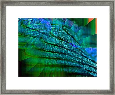 Absolute Blue Framed Print by Michael Durst