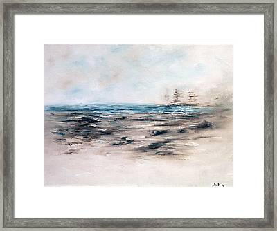 Abstact 201419 Framed Print by Paige Barth