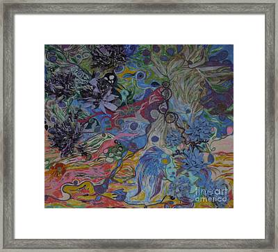 Abstinence Framed Print by Heather Hennick
