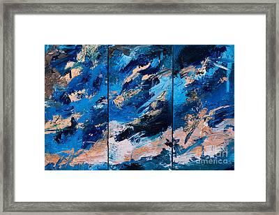 Abstract # 28  Framed Print by Maria  Lankina