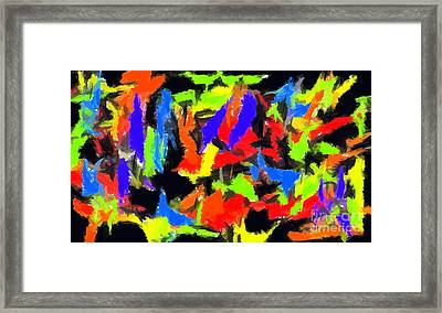 Abstract 1 Framed Print by Chris Butler