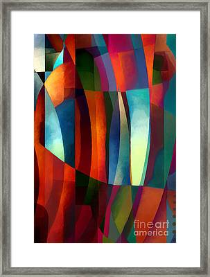 Abstract #1 Framed Print by Elena Nosyreva
