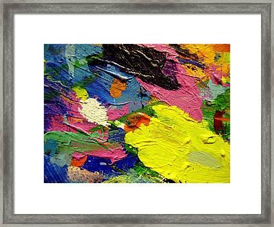 Abstract  1 Framed Print by John  Nolan
