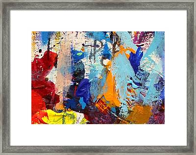 Abstract 10 Framed Print by John  Nolan