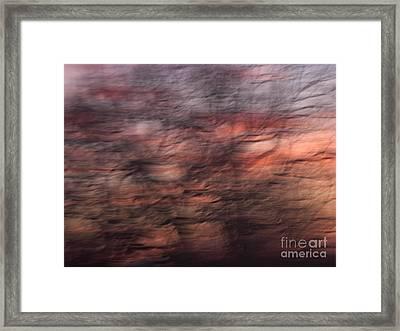 Abstract 10 Framed Print by Tony Cordoza