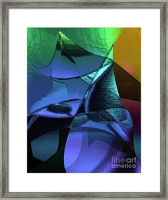 Abstract 1006 Framed Print by Gerlinde Keating - Galleria GK Keating Associates Inc